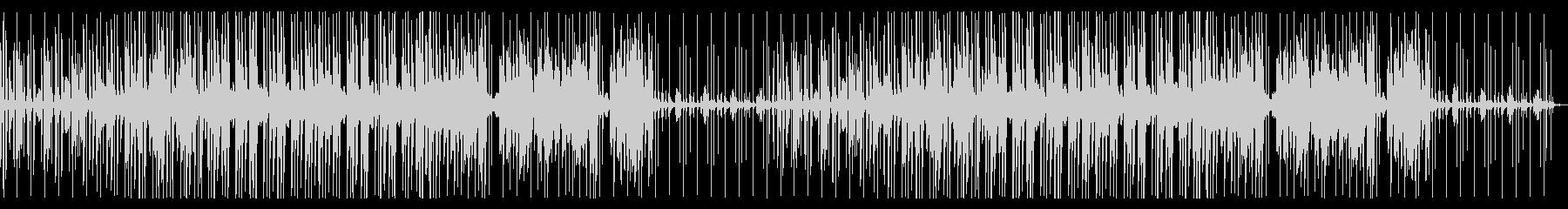 ウッドベース ややコミカル ジャズの未再生の波形