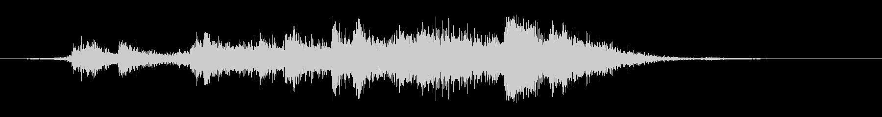 【生録音】ガラーガシャン(ショート)の未再生の波形