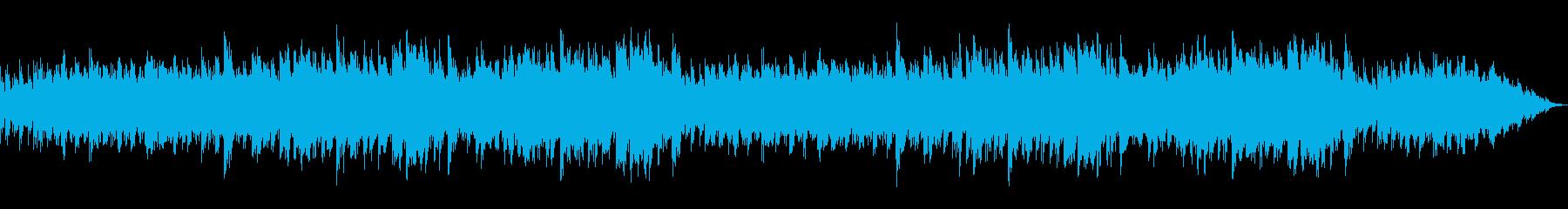 凍てついた氷原や流氷 ピアノ+ドローンの再生済みの波形