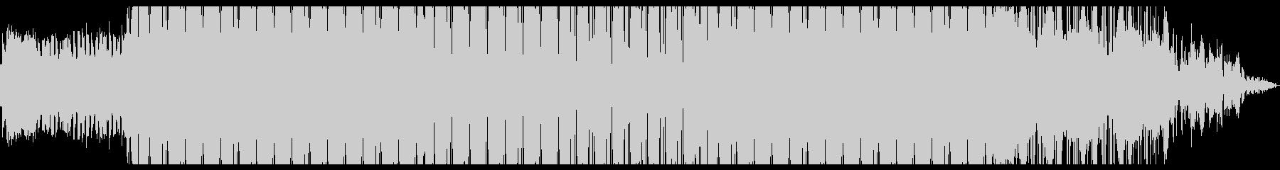 幻想的なエレクトロニカの未再生の波形