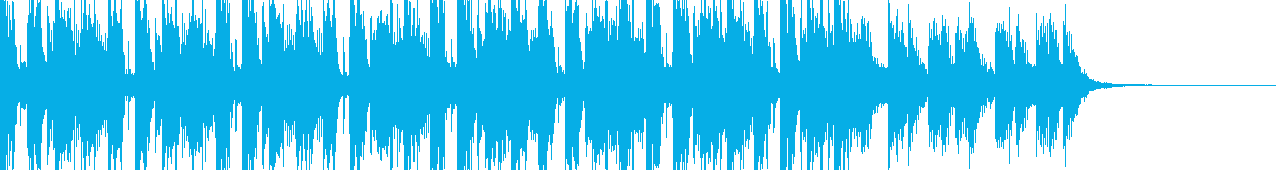 ウォーク&ウォークの再生済みの波形