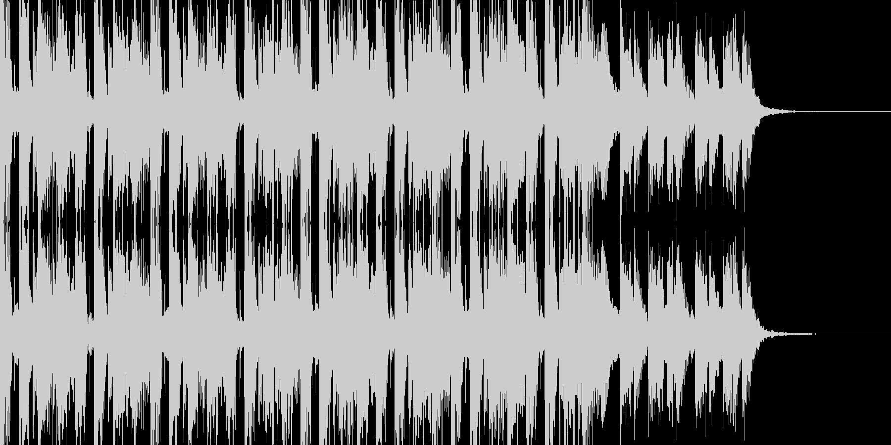 ウォーク&ウォークの未再生の波形