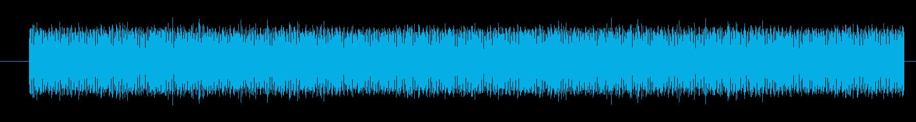 スノーモービル エンジン中速定常01の再生済みの波形