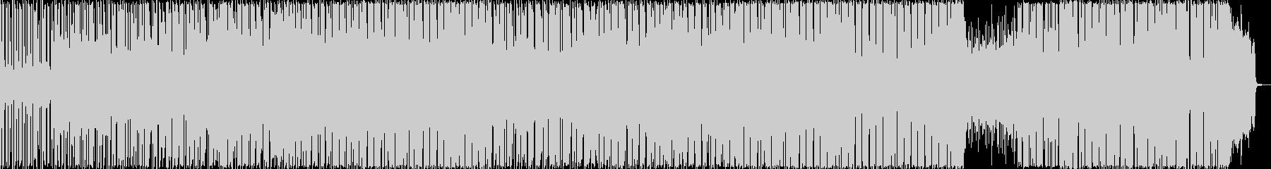 軽快な雰囲気のポップBGM2の未再生の波形