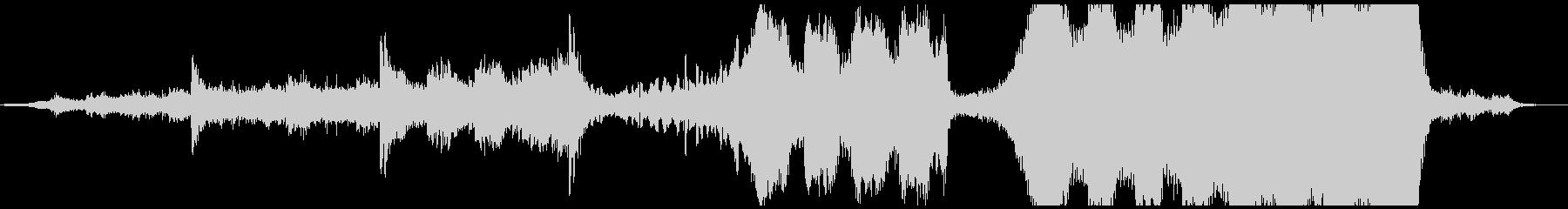 ミドルテンポの映画風トレーラー音楽の未再生の波形