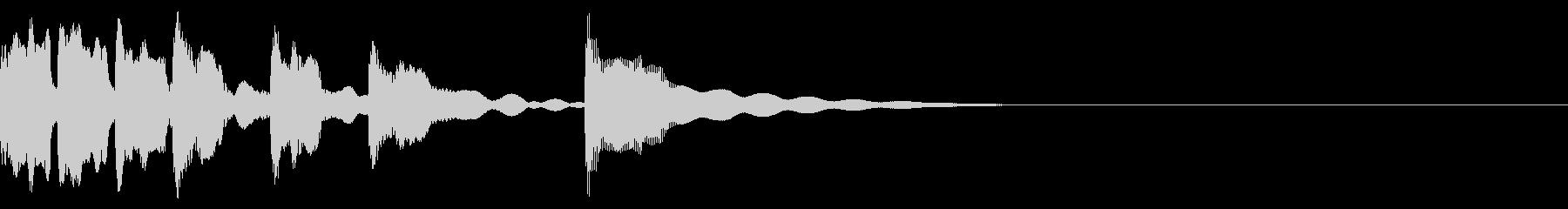 アコーディオンによる場面転換1の未再生の波形