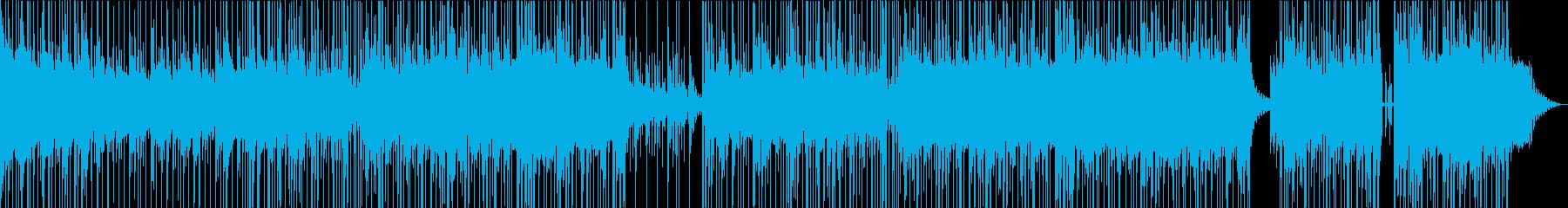 切ないイメージのあるおしゃれポップスの再生済みの波形