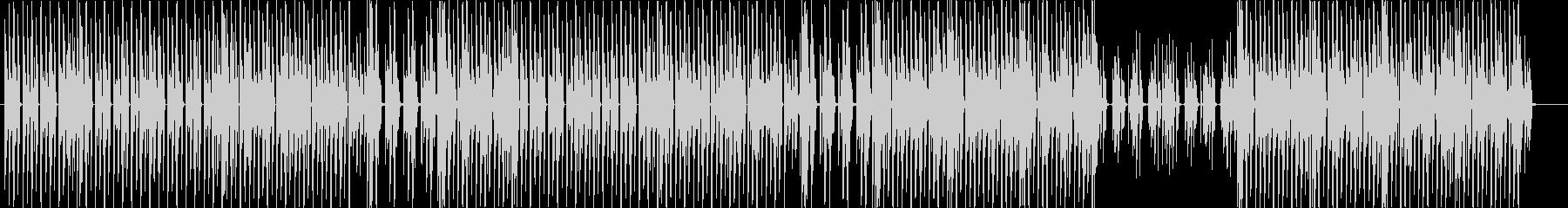 洋楽、ファンク、ディスコ、ヒップホップ♪の未再生の波形