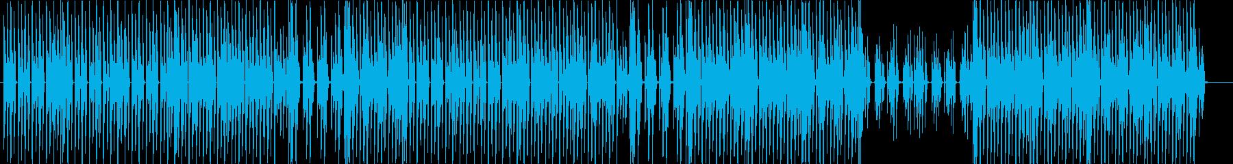 洋楽、ファンク、ディスコ、ヒップホップ♪の再生済みの波形