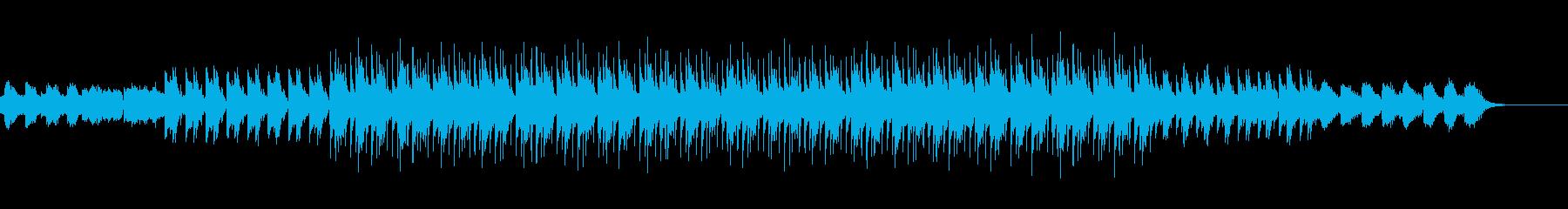 印象的なマイナーメロディのテクノロックの再生済みの波形