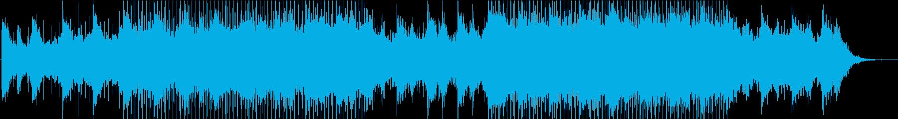 煌びやかで幻想的な洋楽系ヒーリングハウスの再生済みの波形