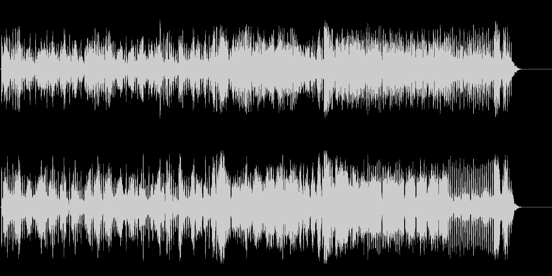 フルートアンサンブルの可憐なクラシックの未再生の波形
