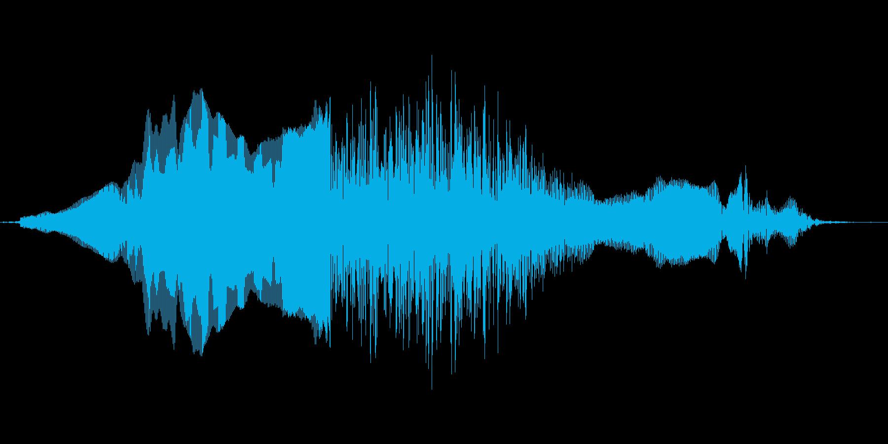 えーんの再生済みの波形