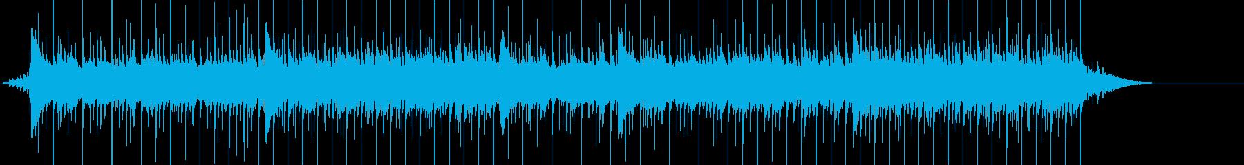 楽しく可愛らしいクリスマスクラシックの再生済みの波形