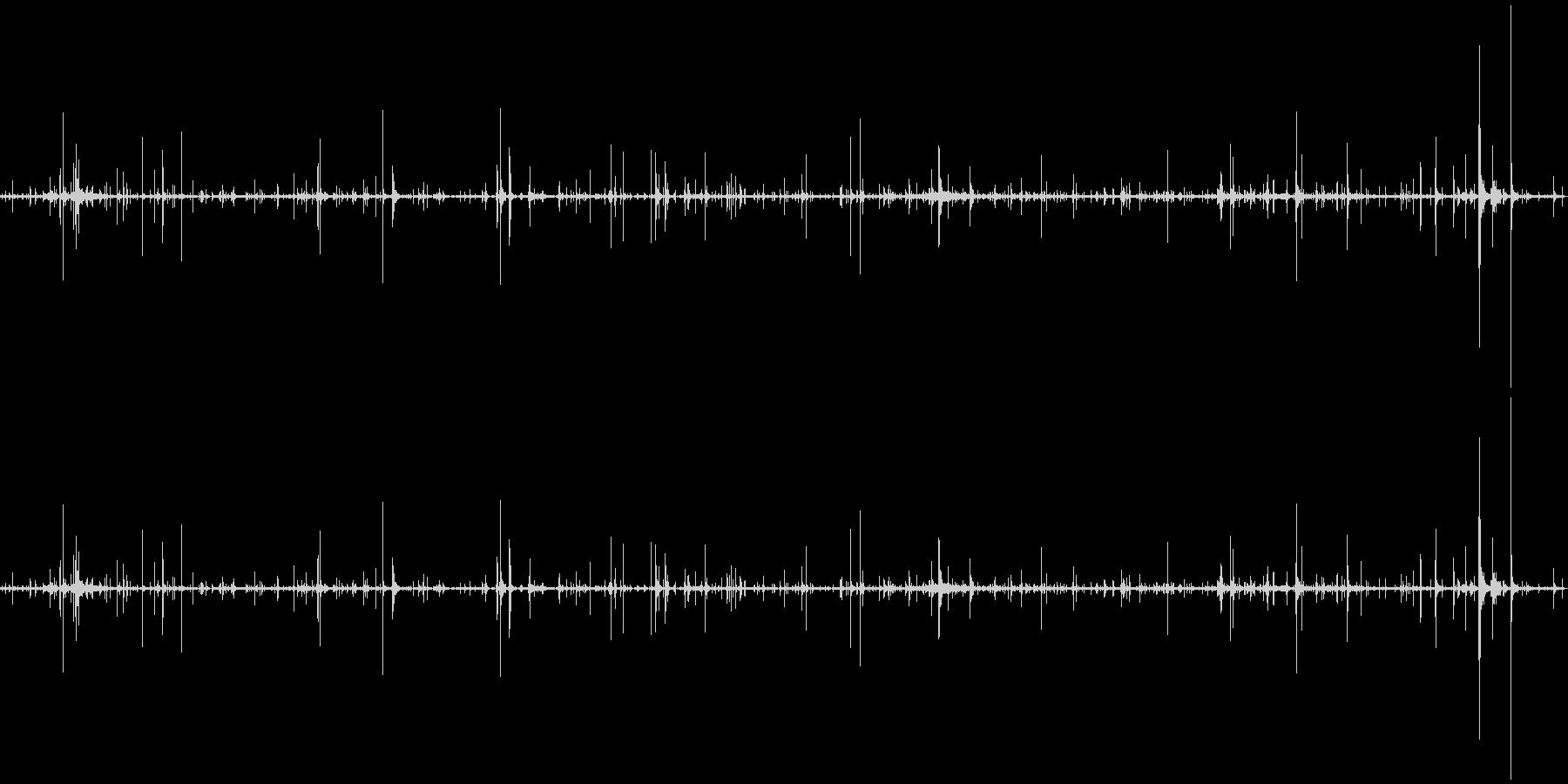 ループ・ネバネバしたものがうごめく音1の未再生の波形