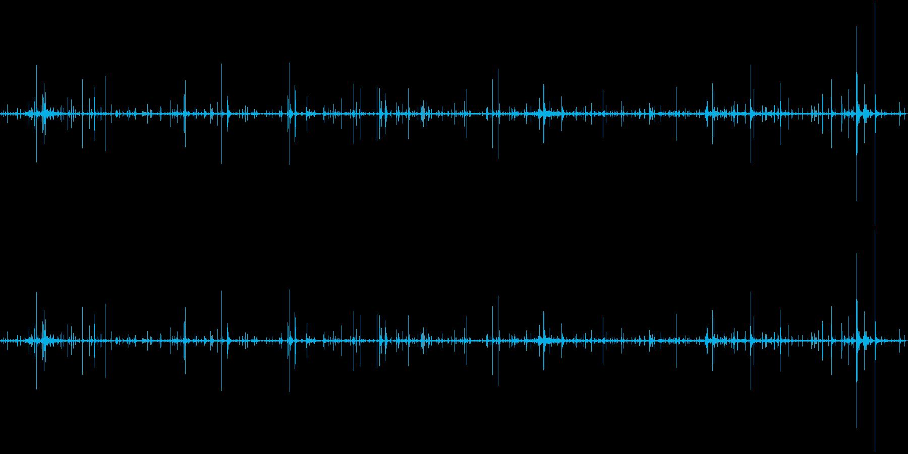 ループ・ネバネバしたものがうごめく音1の再生済みの波形