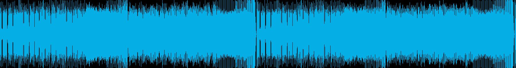 かっこいいエキサイティングなEDMループの再生済みの波形