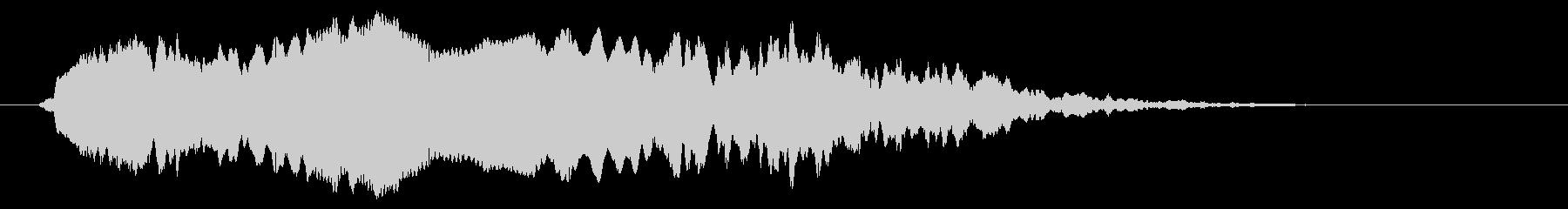 フクロウのひよこ:シングルコールの未再生の波形