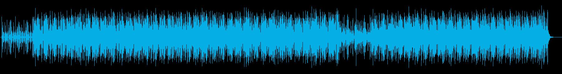 80sディスコ風のダンサブルなポップスの再生済みの波形