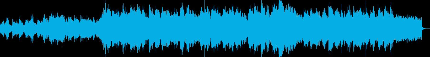 企業VPや映像に感動的オーケストラBGMの再生済みの波形