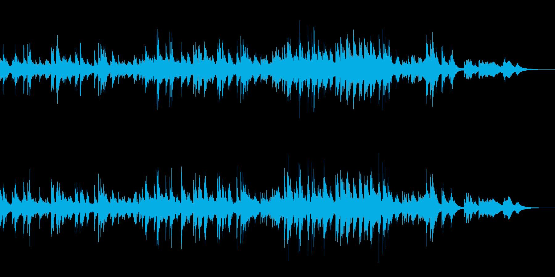 きよしこの夜 カントリージャズ ピアノの再生済みの波形