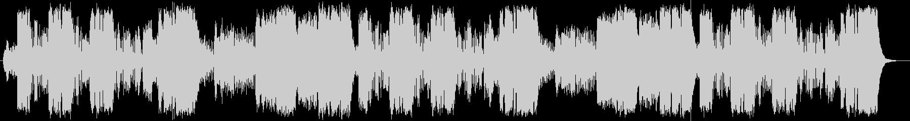 メルヘンな管弦楽器シンセサイザーサウンドの未再生の波形