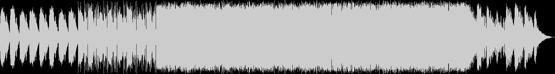 サウンドノベルをイメージする暗い曲の未再生の波形