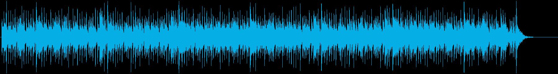 ドラムがアクセントの現代的なミュージックの再生済みの波形