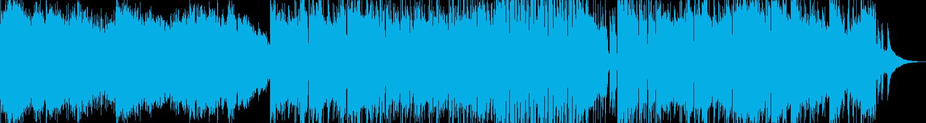 トラッド色のある喜びのワールド・ポップの再生済みの波形