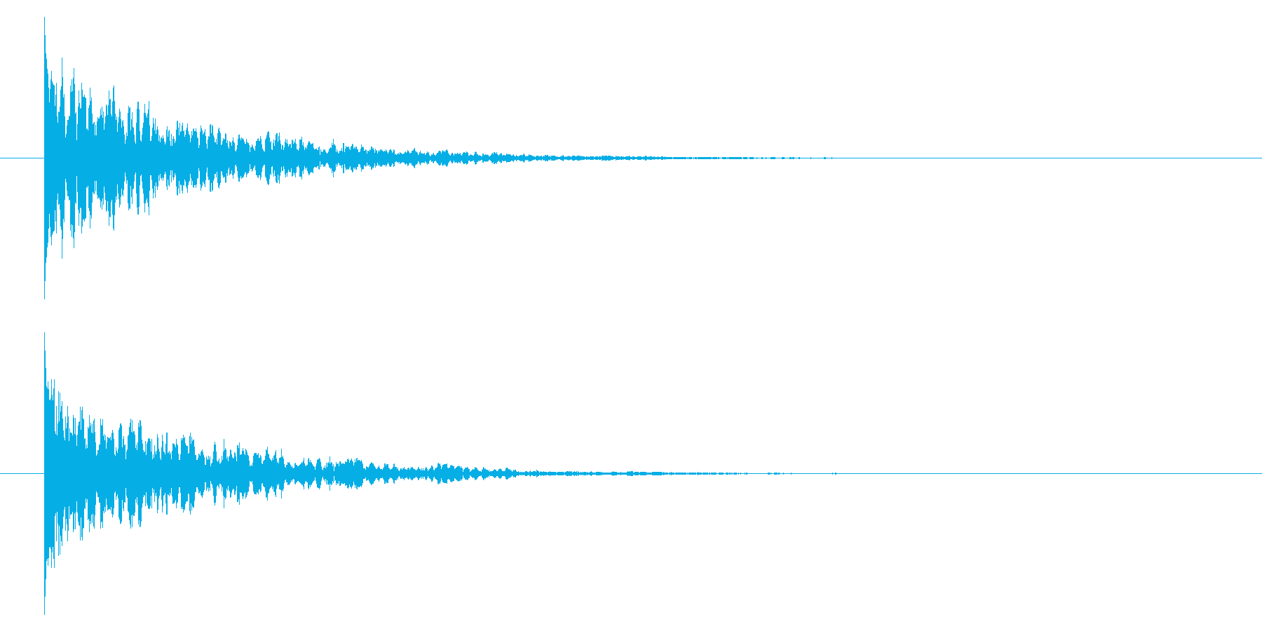 【アクセント44-1】の再生済みの波形