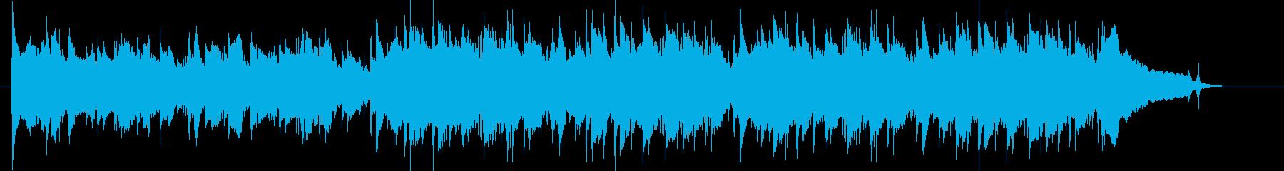 アコギ、明るい、感動、日常、CM30秒2の再生済みの波形