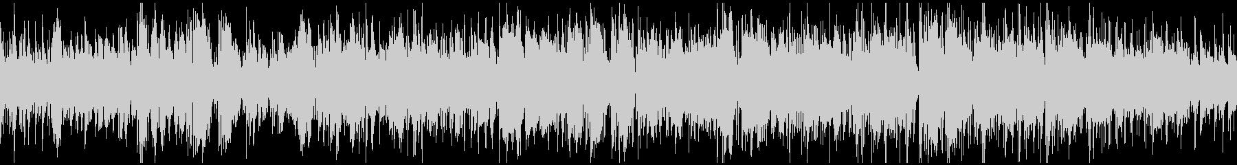 カフェテリアのおしゃれボサノバ※ループ版の未再生の波形