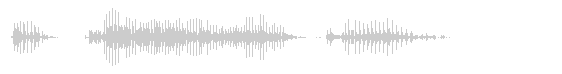 Okayama Prefecture's unreproduced waveform