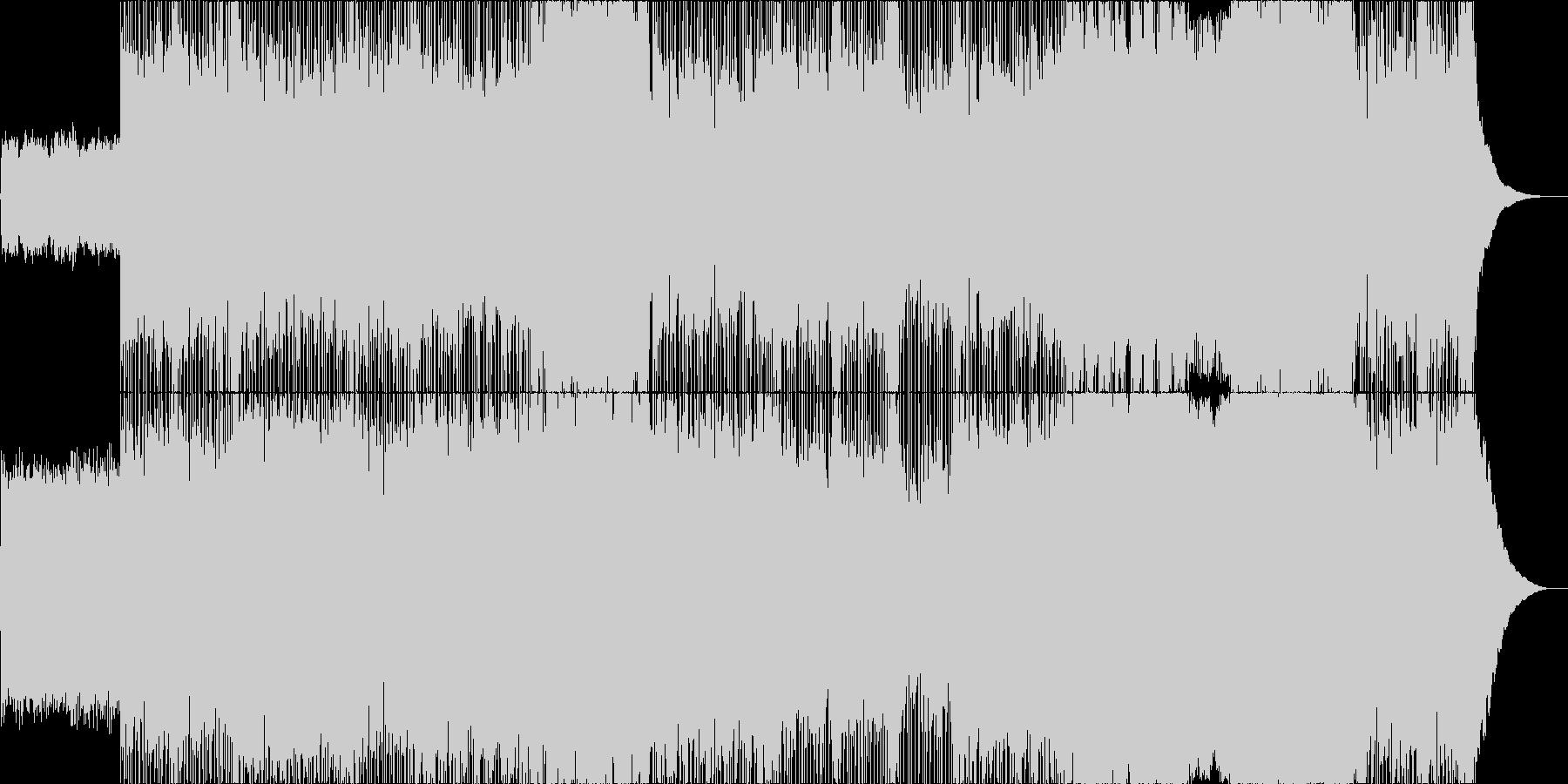 白む海、還る霧の未再生の波形