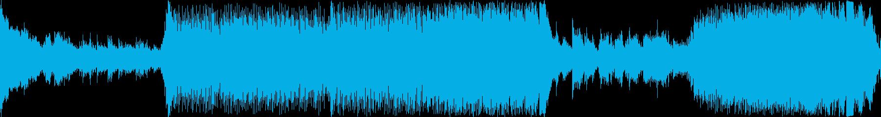 プログレッシブハウス。ハートビート...の再生済みの波形