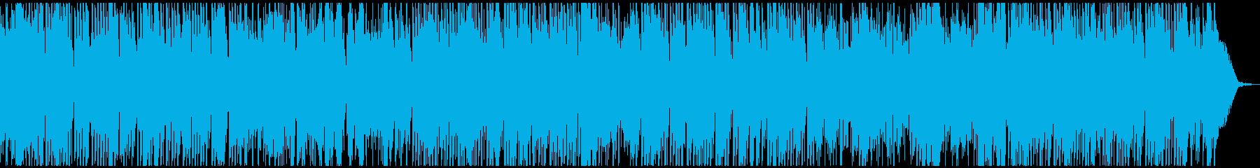 かわいい童謡「春の小川」生楽器ボサノバの再生済みの波形