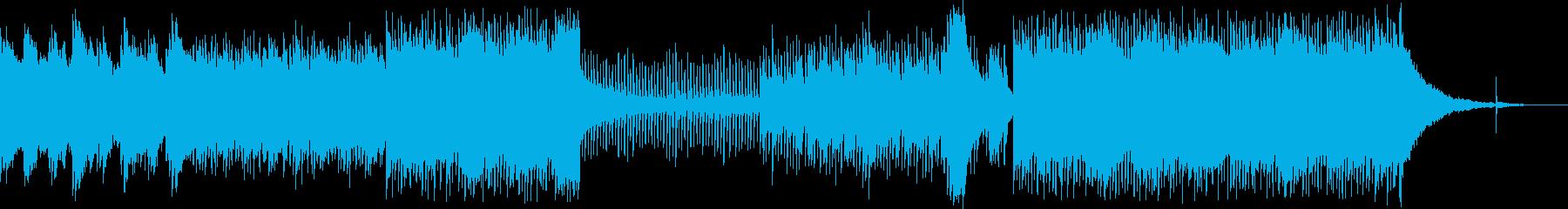 切ないギターロックの再生済みの波形