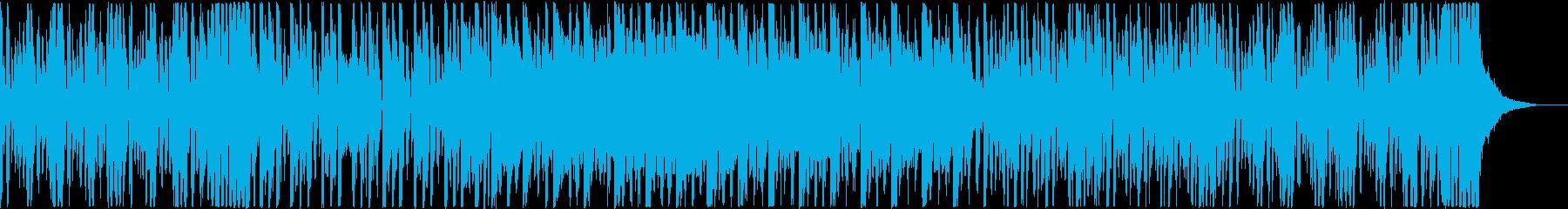 ノリノリの踊れるエレクトロスウィングの再生済みの波形