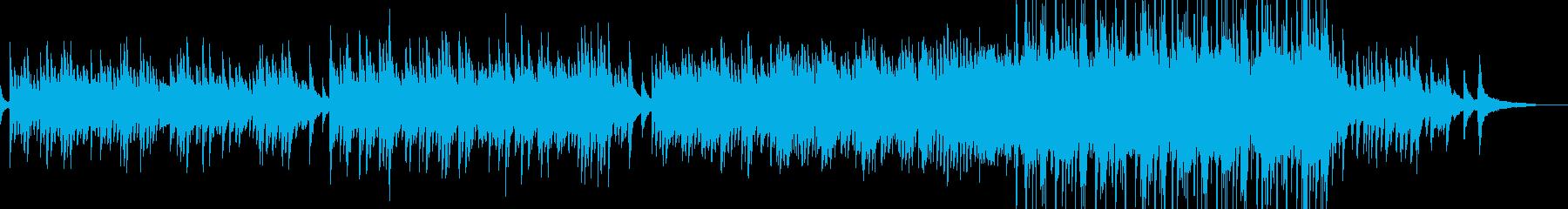 まどろみに包まれる癒しのピアノ 打楽器有の再生済みの波形