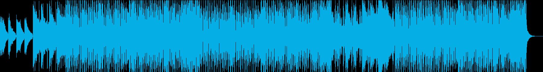 夏の終り 切ないトロピカルハウスの再生済みの波形