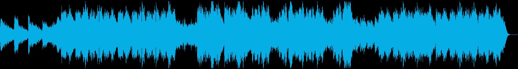 東南アジア風リラクゼーションミュージックの再生済みの波形