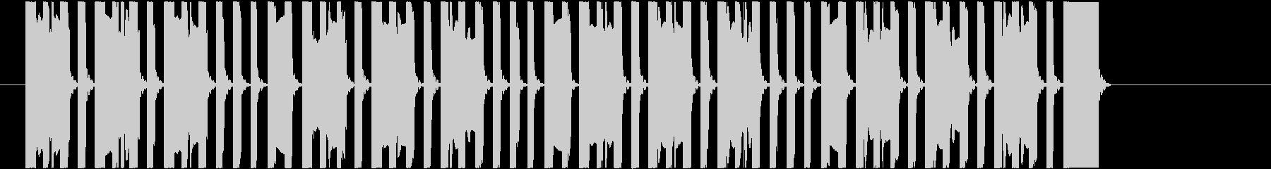 ファミコン風ジングル/コミカル/17秒の未再生の波形