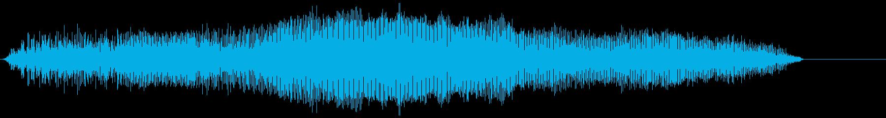 モンスターローグロール1の再生済みの波形