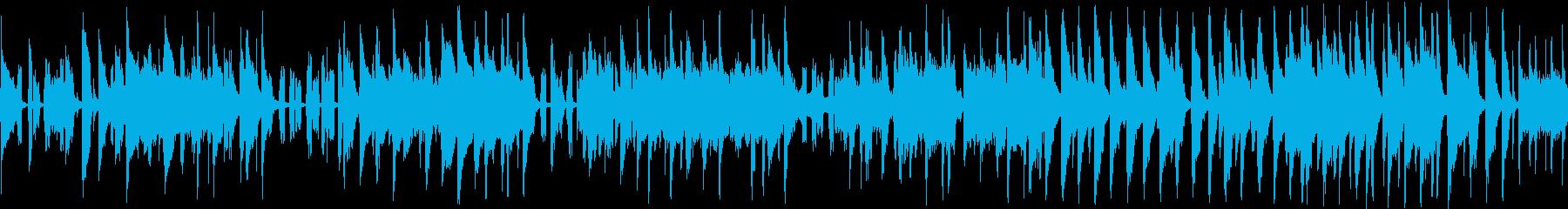 ほのぼのとしてコミカルなジャズチューン…の再生済みの波形
