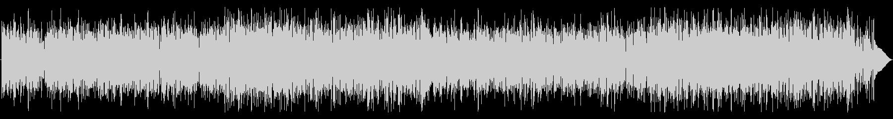 ソフトタッチのファンク ロックの未再生の波形