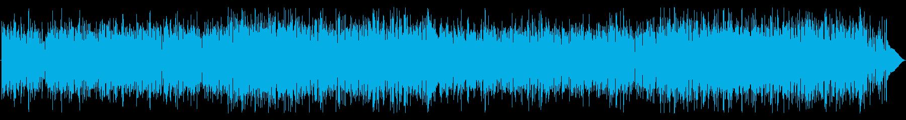 ソフトタッチのファンク ロックの再生済みの波形