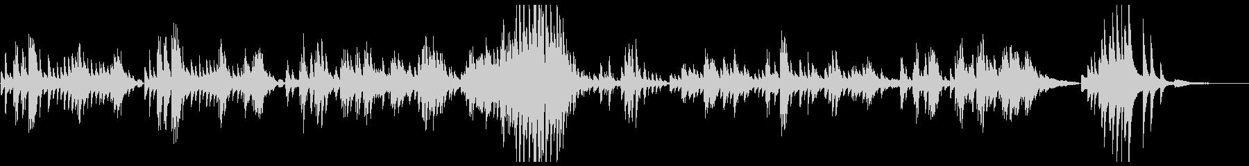 ラヴェル ソナチネ2 メヌエットの未再生の波形