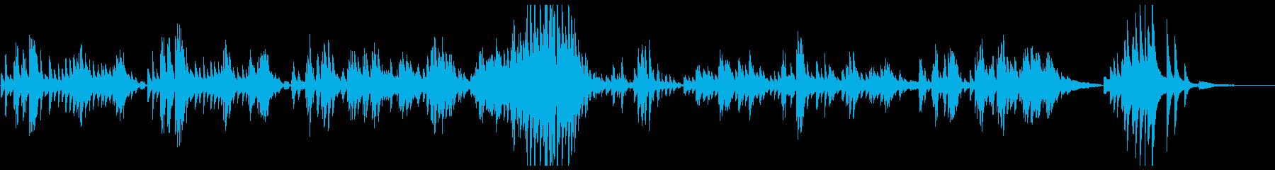 ラヴェル ソナチネ2 メヌエットの再生済みの波形