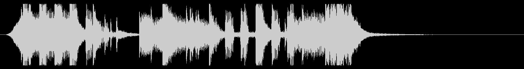 ホラー系EDMダブステップジングル07の未再生の波形