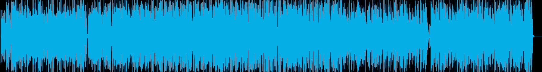 一月一日のジャズピアノトリオの再生済みの波形